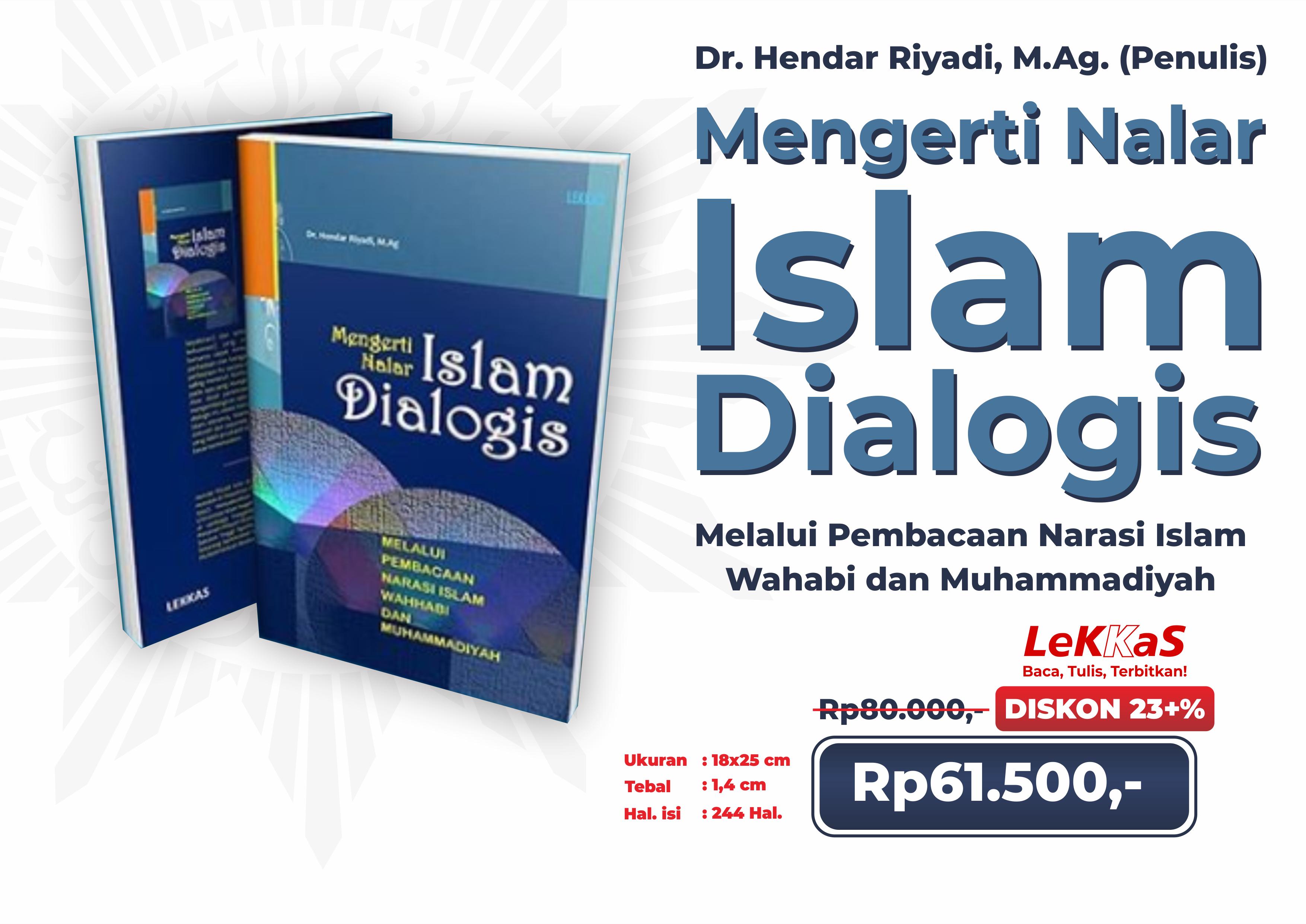 Mengerti Nalar Islam Dialogis